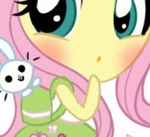 cute Equestria girls - fluttershy Sticker