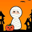 Halloween Cute Mummy by arlain