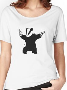 Badgers Fight Back! Women's Relaxed Fit T-Shirt