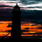 Talacre Lighthouse by David Audsley