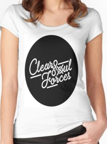 Clear Soul Forces Women's Fitted Scoop T-Shirt