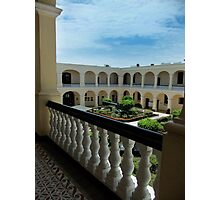 Naval Museum Courtyard Photographic Print