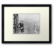 Mario At Work Framed Print