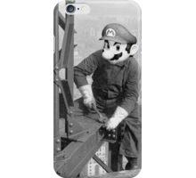 Mario At Work iPhone Case/Skin