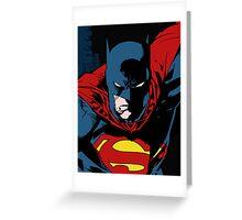 Batman x Clark Kent Greeting Card
