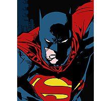 Batman x Clark Kent Photographic Print