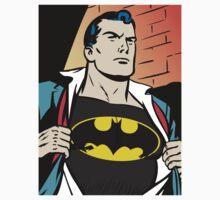 Superman x Bruce Wayne Kids Clothes