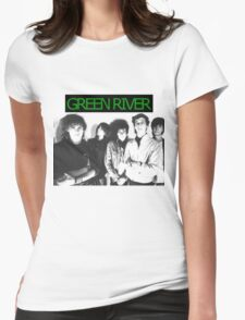 Green River Womens Fitted T-Shirt