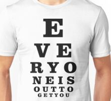 Eye Exam Unisex T-Shirt