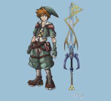 Kingdom Hearts: Legend of Zelda One Piece - Short Sleeve