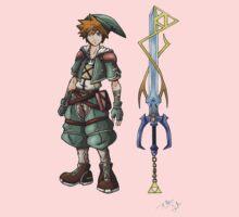 Kingdom Hearts: Legend of Zelda Baby Tee