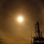 Moon halo by bpzzr