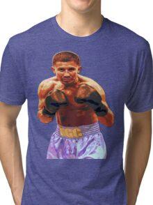 GGG Gennady Golovkin - Red/Bronze effect Boxing Tri-blend T-Shirt