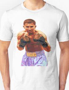 GGG Gennady Golovkin - Red/Bronze effect Boxing T-Shirt