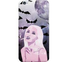 Angelina Jolie Moon Shine Bats Stars iPhone Case/Skin