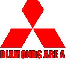 Diamonds are a girl's best friend by hoddynoddy
