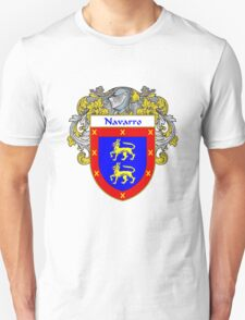 Navarro Coat of Arms/Family Crest T-Shirt