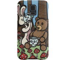 Teddy Bear and Bunny - The Mushroom Forest Samsung Galaxy Case/Skin