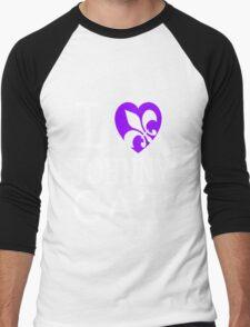 I <3 JOHNNY GAT - saints row Men's Baseball ¾ T-Shirt