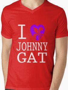 I <3 JOHNNY GAT - saints row Mens V-Neck T-Shirt