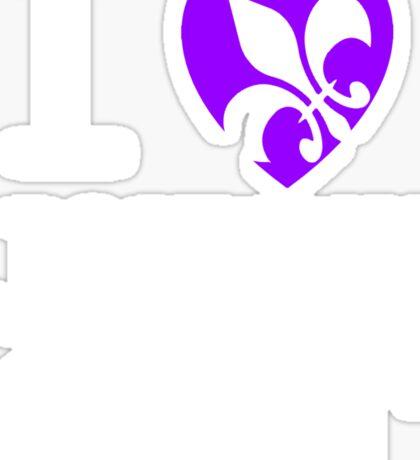 I <3 JOHNNY GAT - saints row Sticker