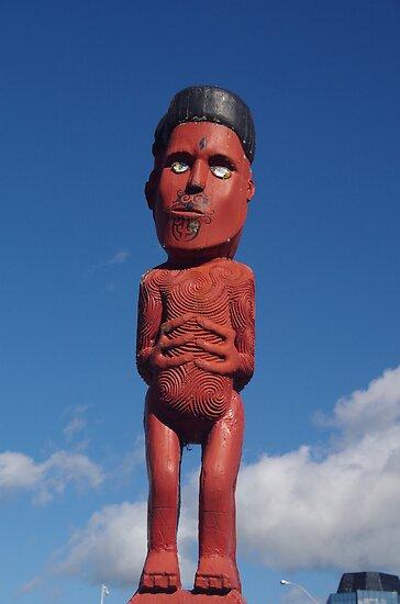 Maori Carving by lezvee