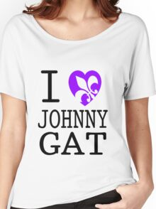 I <3 JOHNNY GAT - saints row white Women's Relaxed Fit T-Shirt