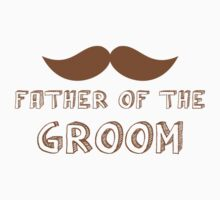 Father of the Groom Mustache wedding theme  by jazzydevil