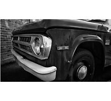 Vintage Truck Photographic Print