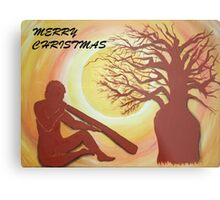 BOAB CHRISTMAS TREE Metal Print