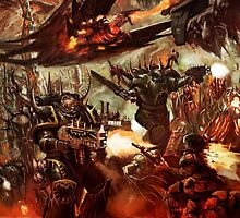 Black Legion Marines by FailedDEATH666