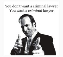 You Don't Want a Criminal Lawyer by NejiHyugguh