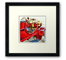 Vintage 1906 REO Car Framed Print