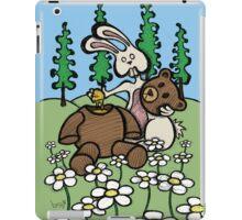 Teddy Bear and Bunny - Sweet Golden Blood iPad Case/Skin