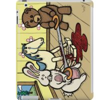 Teddy Bear and Bunny - The Price Of Freedom iPad Case/Skin