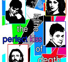"New Order ""The Kiss of Death"" Shirt by Shaina Karasik"