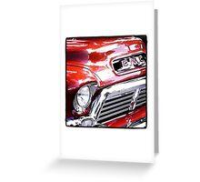 Vintage GMC Truck Greeting Card