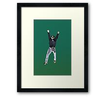 Party Cop Framed Print