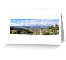Luge, Rotorua, New Zealand Greeting Card