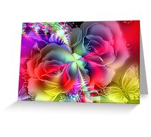 Everything is Coming Up Roses Greeting Card