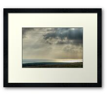 Land, Sea and Air Framed Print