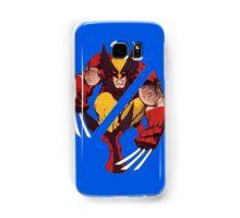 Wolverine Sliced (Blue) Samsung Galaxy Case/Skin
