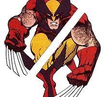 Wolverine Sliced (Blue) by ProjectMayhem