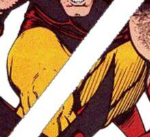 Wolverine Sliced (Blue) Sticker