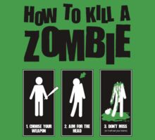 How to kill a zombie by gecaccavale