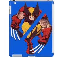 Wolverine Sliced (Blue) iPad Case/Skin