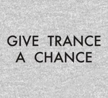 Trance Black One Piece - Long Sleeve