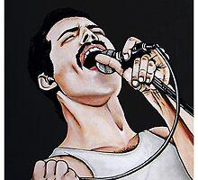 - Freddie Mercury - by Laura-A