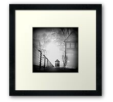 A Dark Place In History Framed Print