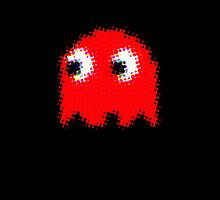 RED PAC MAN GEEK 2 by PASLIER Morgan